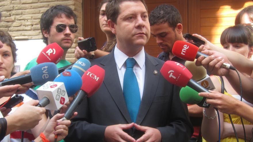 """García-Page: """"Si Zapatero hubiera pedido el rescate sería una gran traición para España. Si lo pide Rajoy será lo mismo"""""""