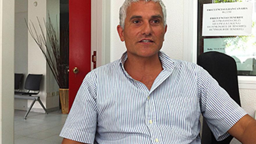 Rafael Santamaría, detenido por hacer nudismo en Las Canteras. (CANARIAS AHORA)