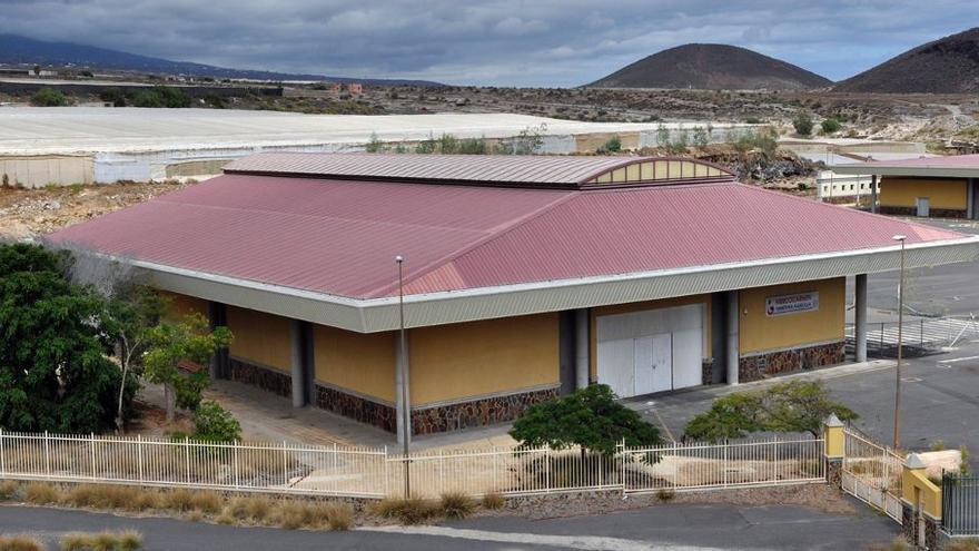 Instalaciones de Cocarmen, en Granadilla de Abona, una cooperativa agrícola sin actividad y sometida a concurso de acreedores