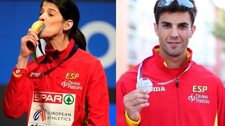 Ruth Beitia y Miguel Ángel López, mejores atletas españoles de 2015