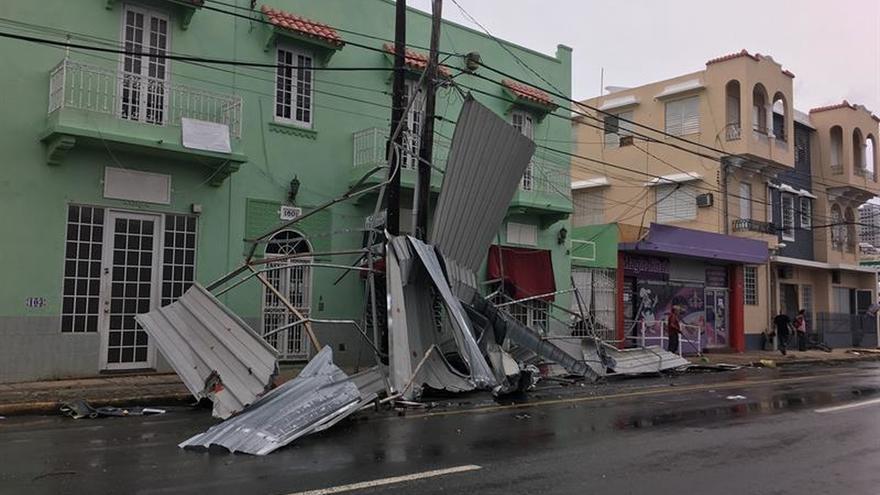 Al menos seis muertos por el huracán María en Puerto Rico, según medios
