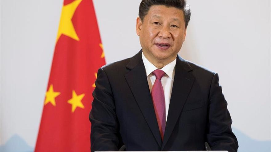 Xi Jinping habla por teléfono con Trump sobre la situación de Corea del Norte