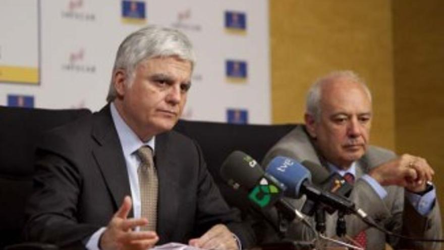José Miguel Pérez y Emilio Mayoral, en una imagen de archivo.