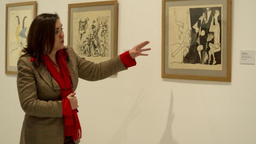 Una exposición explora en Granada la faceta de grabador de Pablo Picasso