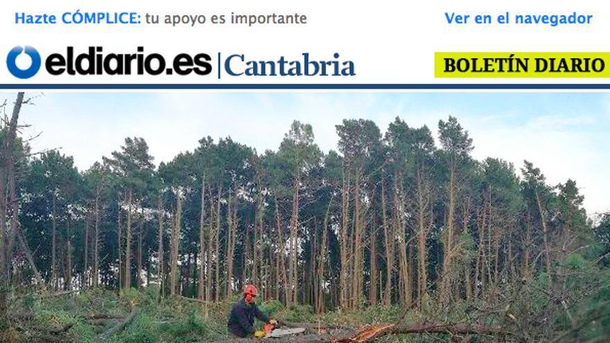 Boletin diario eldiario.es cantabria. 23/2/2017