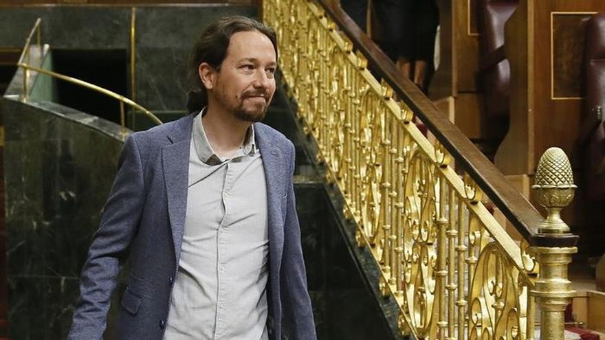 """Iglesias defiende que se permita la """"manifestación política legítima"""" del 1-O"""