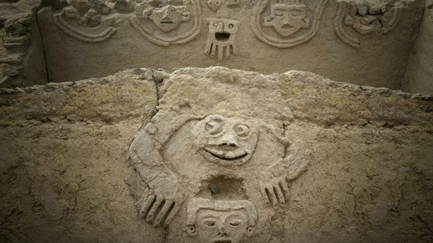 Un sapo humano entre los nuevos hallazgos de la civilización más antigua de América