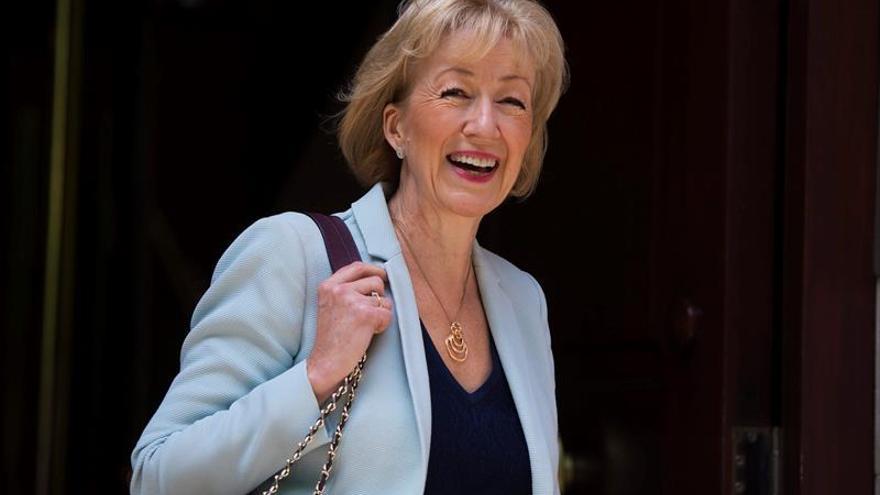 Andrea Leadsom se retira de la carrera por el liderazgo conservador británico