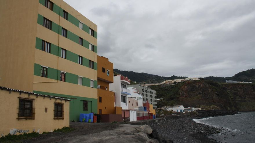 Zona de Maldonado de Santa Cruz de La Palma.