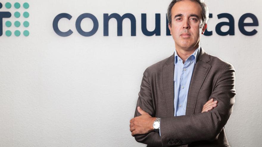 Arturo Cervera, fundador de Comunitae, la primera plataforma de financiación participativa que nació en España