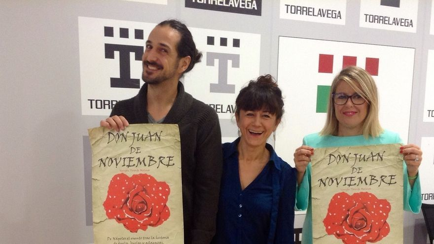Quasar Teatro representará este año 'Don Juan de Noviembre' en la Casa de Los Escudos
