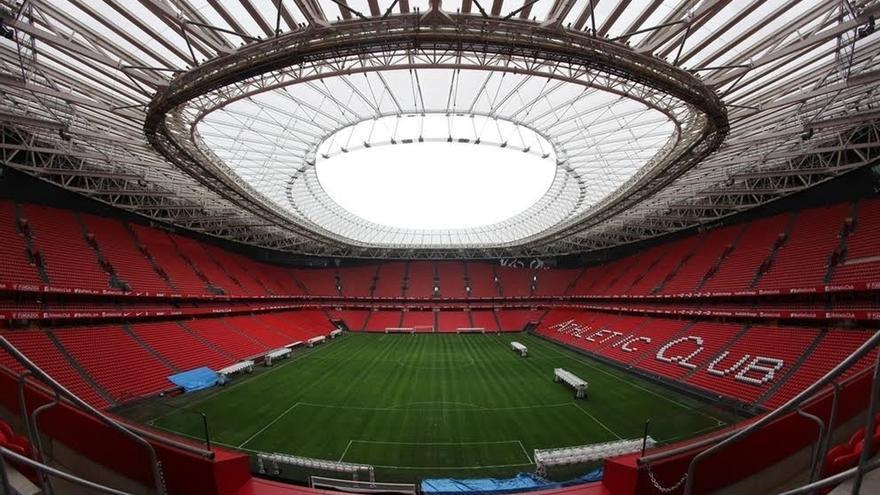 La Sociedad Coral de Bilbao cantará este domingo sobre el césped de San Mamés