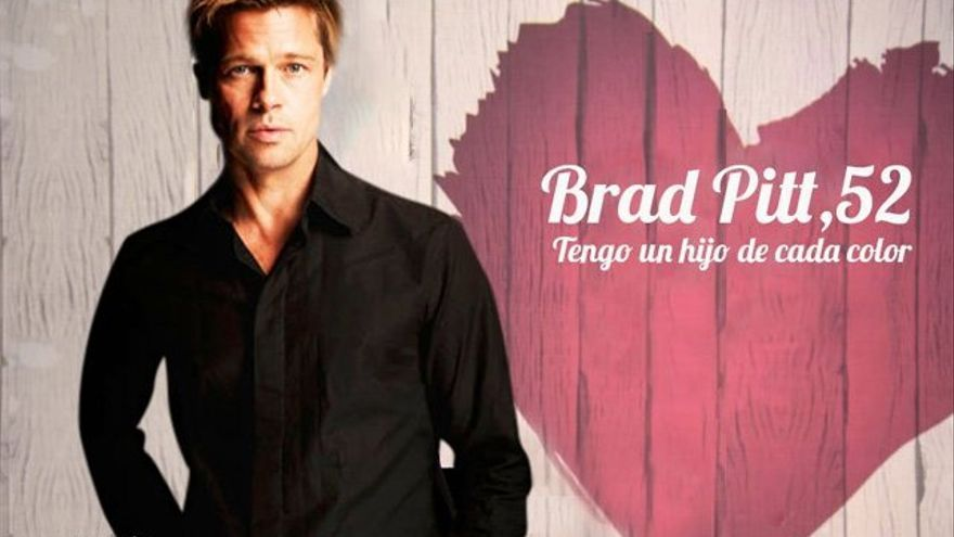 Twitter mete a Brad Pitt en 'First Dates' y hace TT a Jennifer Aniston