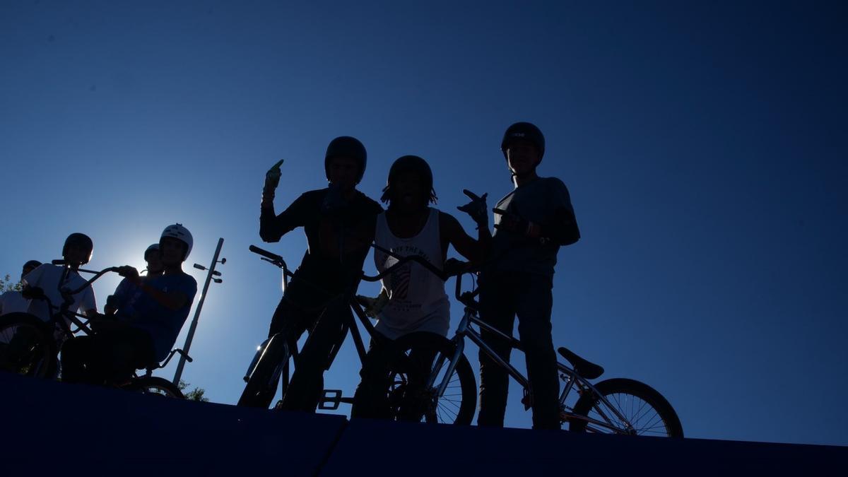 Participantes en el Madrid Urban Sports