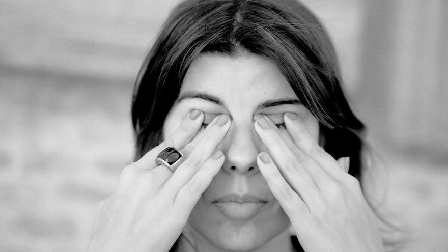 Isabel Navarro, autora de `Cláusula suelo´/ Beatriz Olalde