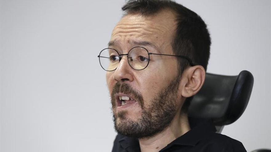 Podemos recuerda al PSOE que el objetivo de sus pactos debe ser echar a Rajoy