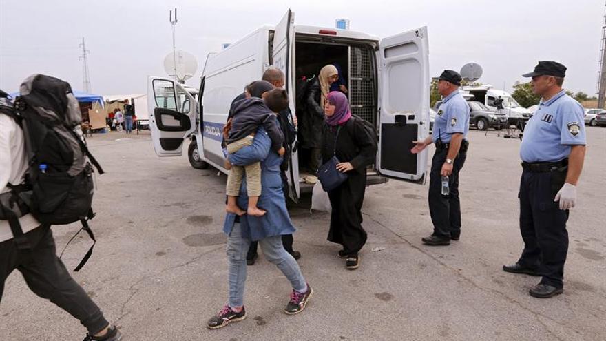 Grandes atascos en la frontera de Eslovenia y Croacia por los controles Schengen