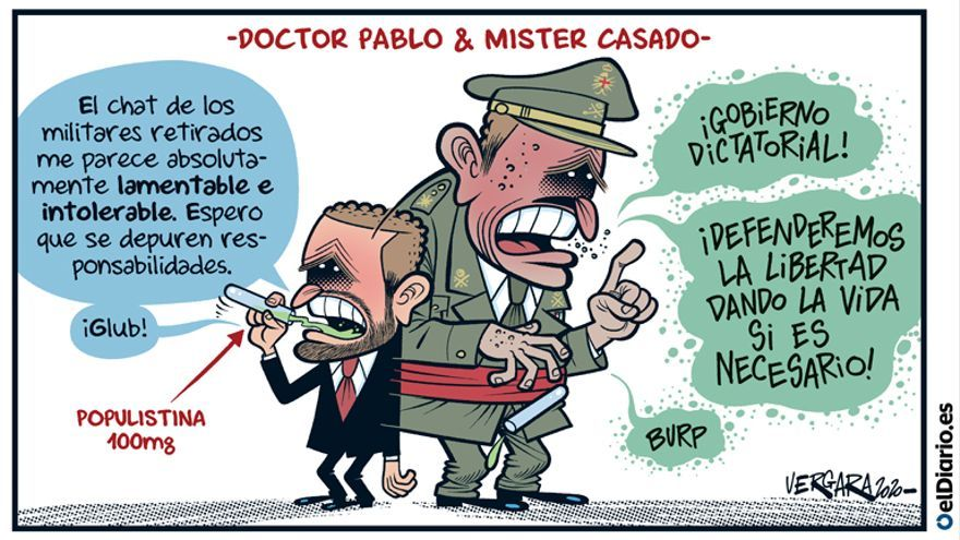 Doctor Pablo & Mister Casado