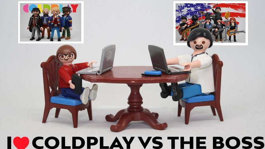 I love Coldplay vs the Boss
