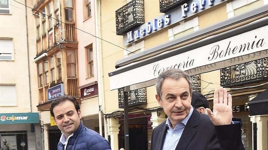 """Zapatero pide al PSOE determinación para """"ser una voluntad política mayoritaria"""""""