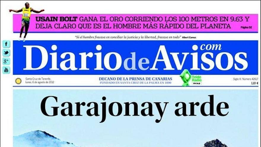 De las portadas del día (06/08/2012) #3