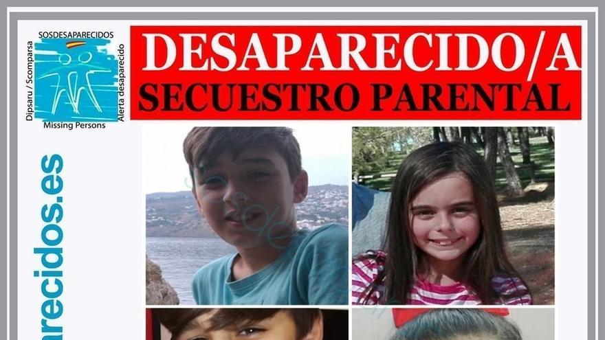 Policía Nacional busca a dos menores después de que el padre no los entregue en el punto de encuentro