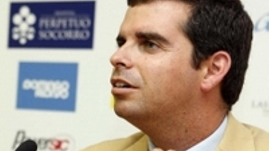 Lucas Bravo de Laguna, consejero de Deportes del Cabildo grancanario.