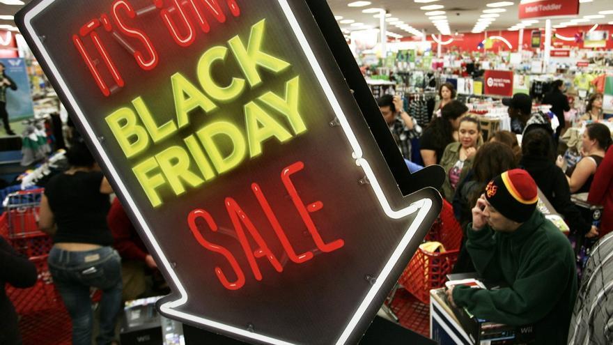 Los vascos gastarán 214 euros en el Black Friday, por debajo de la media estatal de 221 euros