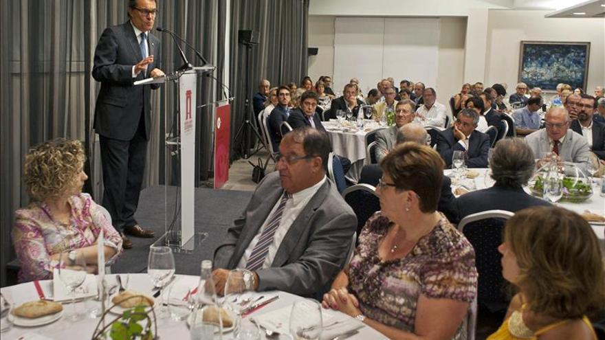 """Mas dice que el PP """"se plantea cargarse el estado de derecho"""" con la reforma del Constitucional"""