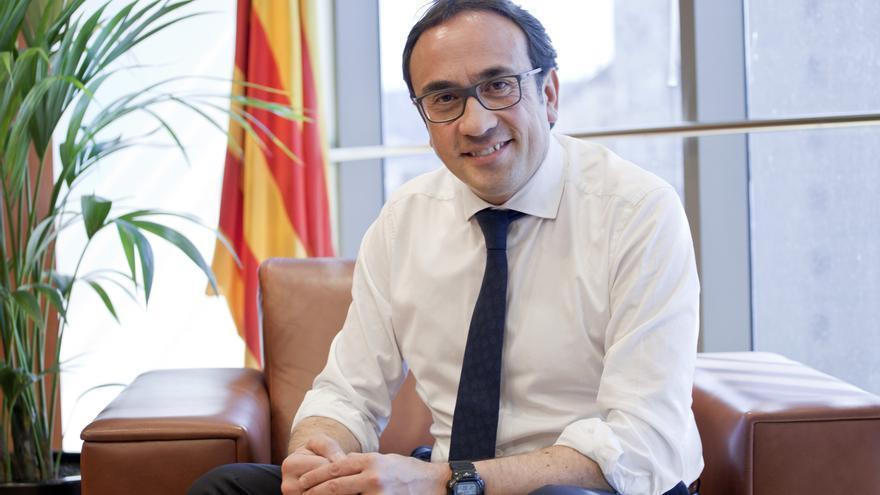 El exconseller Josep Rull, actualmente preso político en la cárcel de Lledoners (Barcelona)