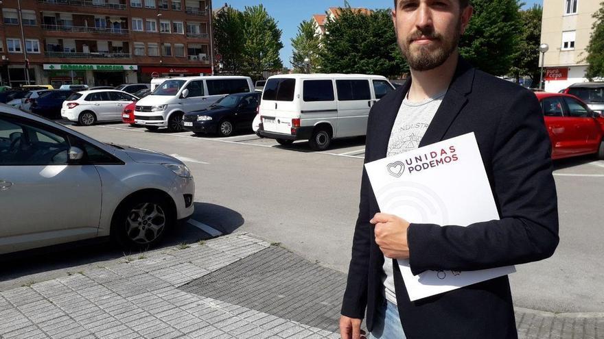 Luis del Piñal, único candidato a liderar Podemos Cantabria