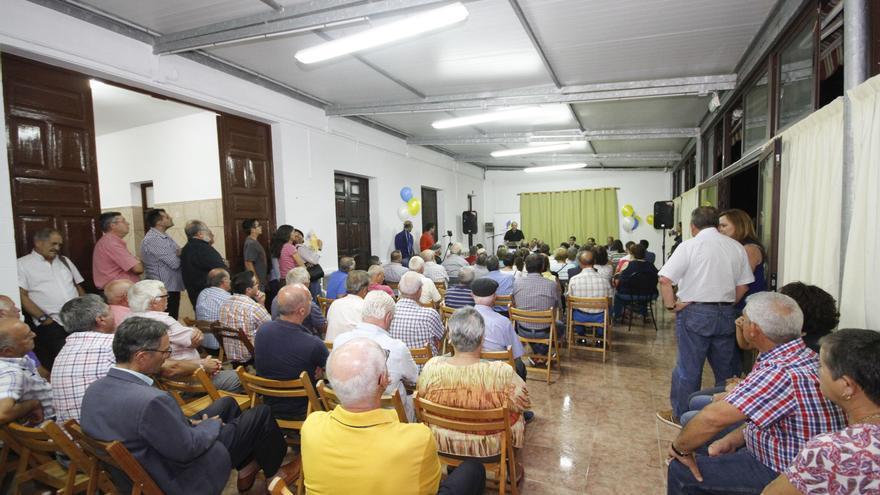 Acto de inauguración de la nueva sede de CC en Puntallana.