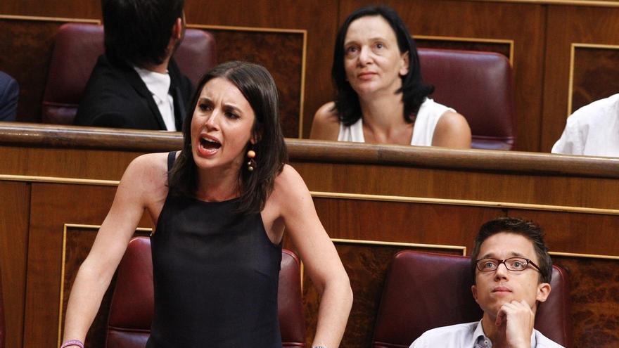 """Montero acusa a los 'errejonistas' de contribuir al """"hostigamiento"""" de las élites a Iglesias con sus actitudes """"dañinas"""""""