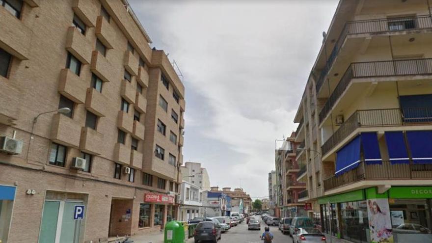 La calle de Dénia donde ha sucedido el último asesinato machista