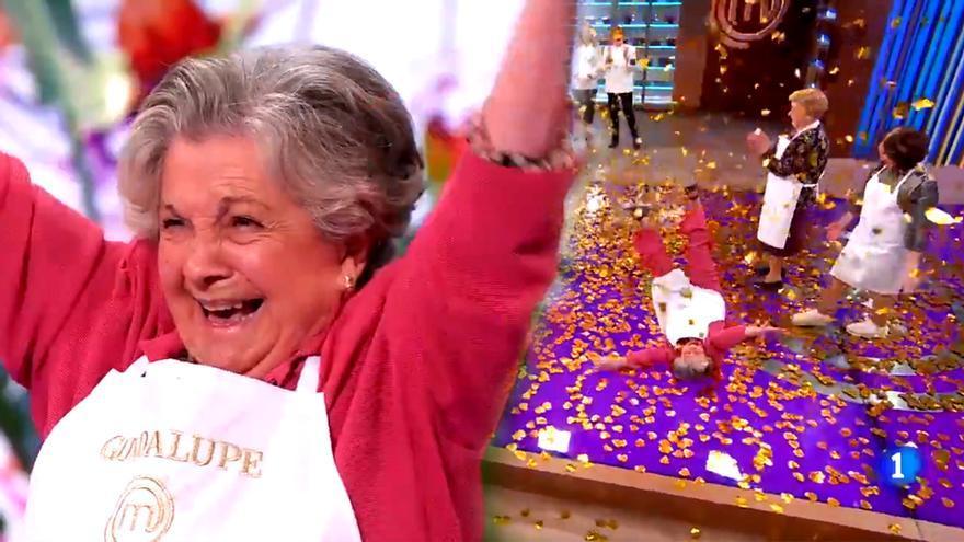 Guadalupe Fiñana, ganadora del primer 'MasterChef Abuelos'