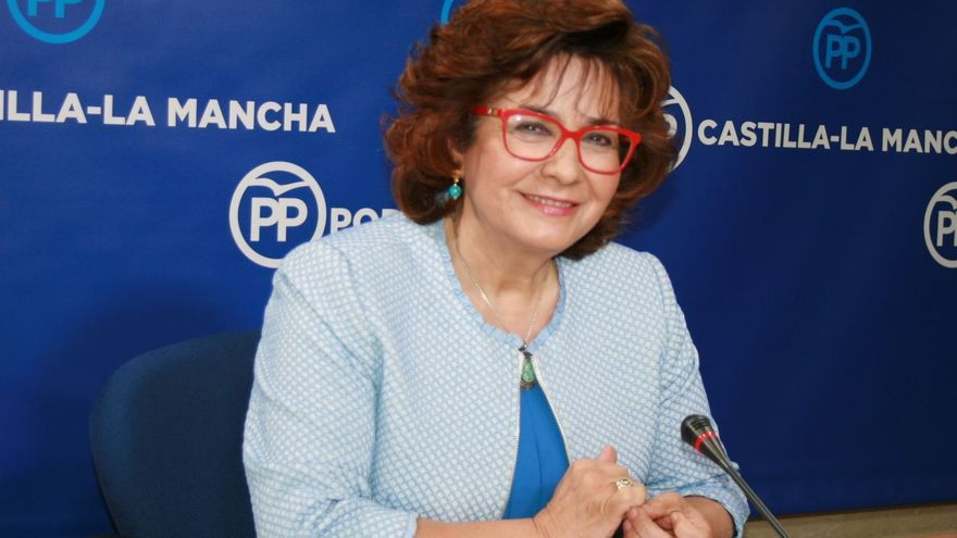 La portavoz del PP en Castilla-La Mancha, Carmen Riolobos