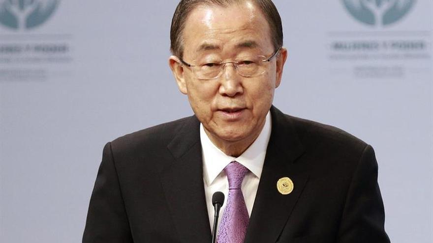 Ban Ki-moon dice que la tolerancia está poniéndose a prueba en el mundo
