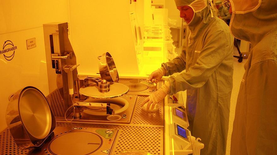 Científicos en el Laboratorio Sin Ruido de IBM