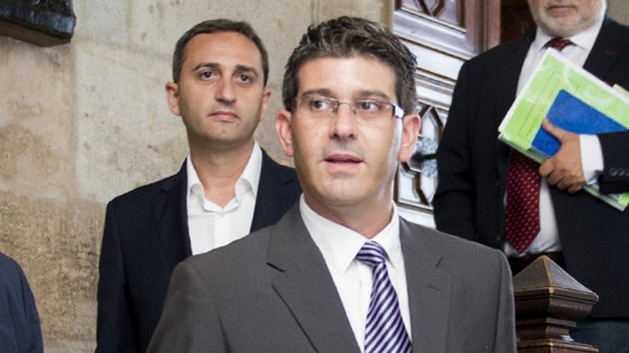 César Sánchez y Jorge Rodríguez, presidentes de las diputaciones de Alicante y València