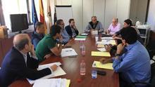 Reunión de coordinación entre los gobiernos canario y central y la organización Fedex