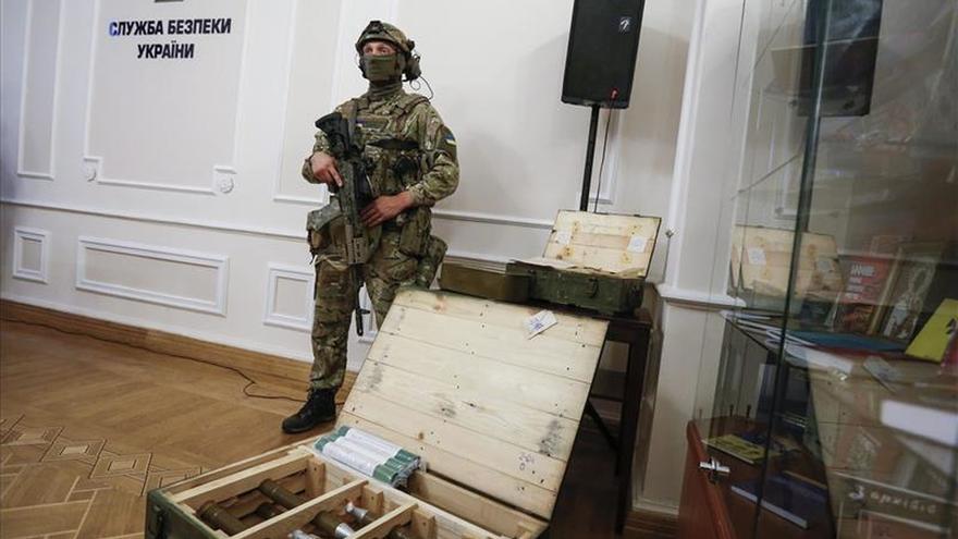 Dos muertos en una operación para desarticular un comando ruso de sabotaje en Kiev