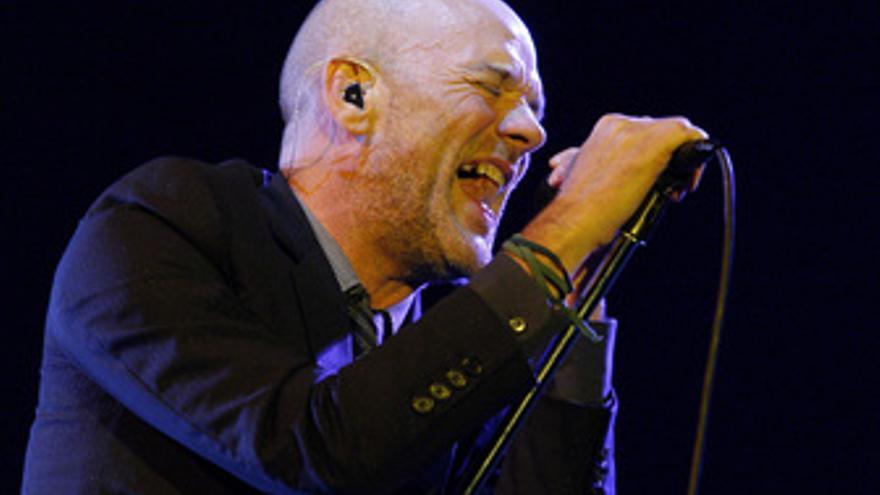 Michael Stipe, del grupo R.E.M.