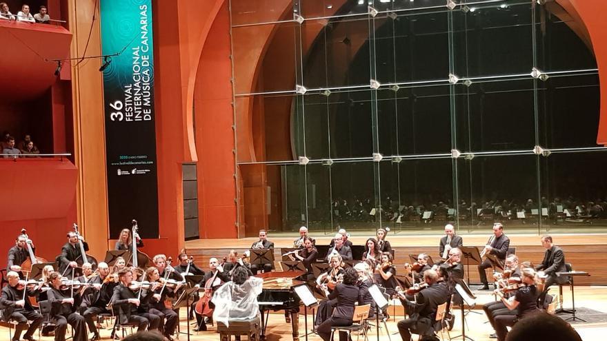 Concierto del Festival de Música de Canarias.