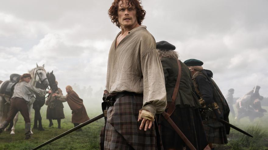 Sam Heughan, Jamie en 'Outlander'