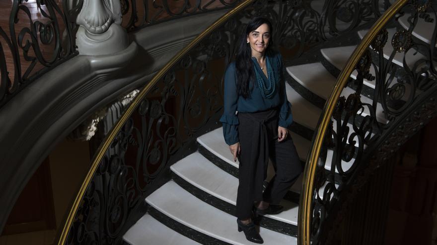 Silvia Sanz Torres, directora de la Orquesta Metropolitana de Madrid
