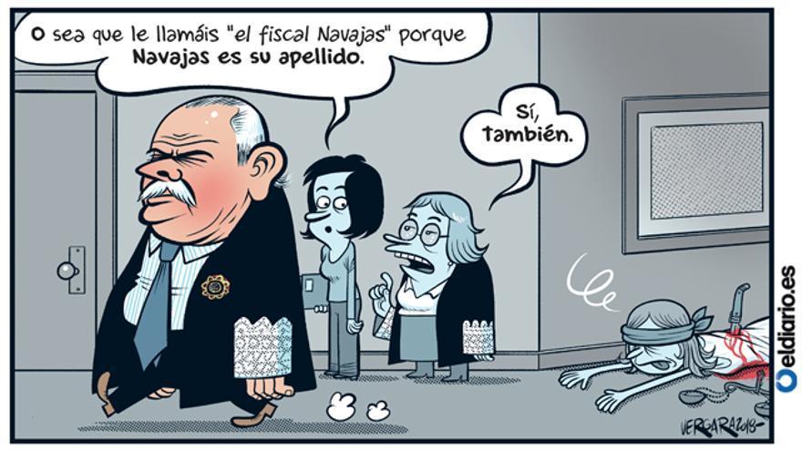 El fiscal del Supremo
