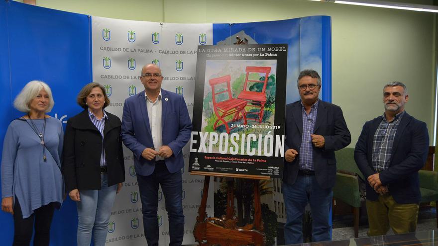 Presentación de la exposición en el Cabildo.