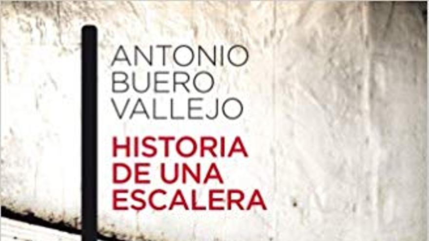 Portada de Historia de una escalera, de Antonio Buero Vallejo.