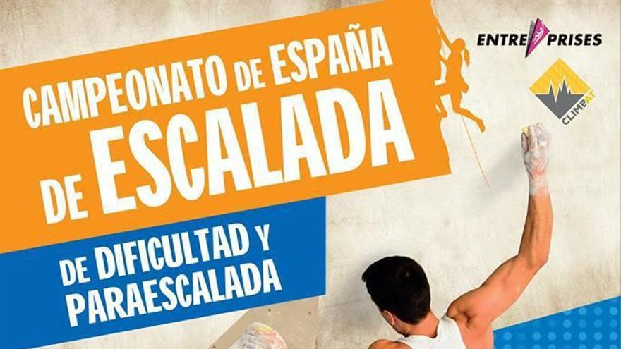 Campeonato España Escalada Dificultad y Paraescalada.