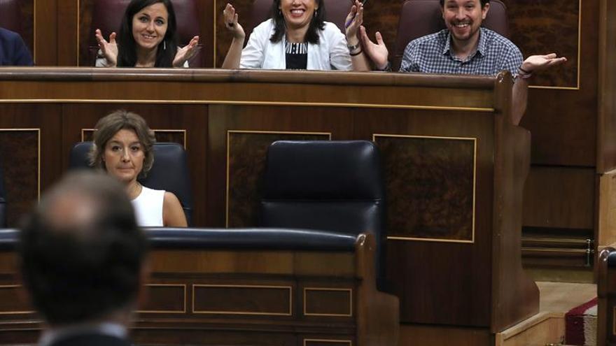 Iglesias reprocha al PP utilizar a las víctimas para no hablar de corrupción